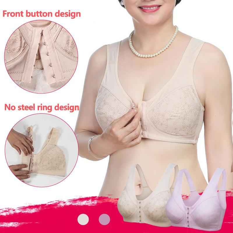 Front Close Wireless Bra