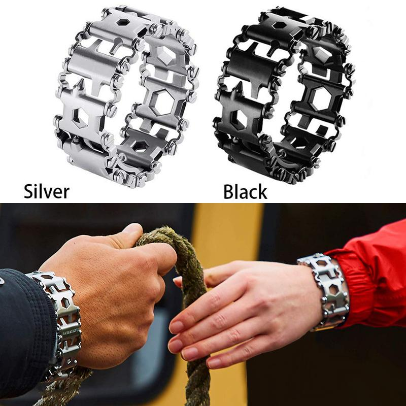 29-in-1 Multifunctional stainless steel bracelet