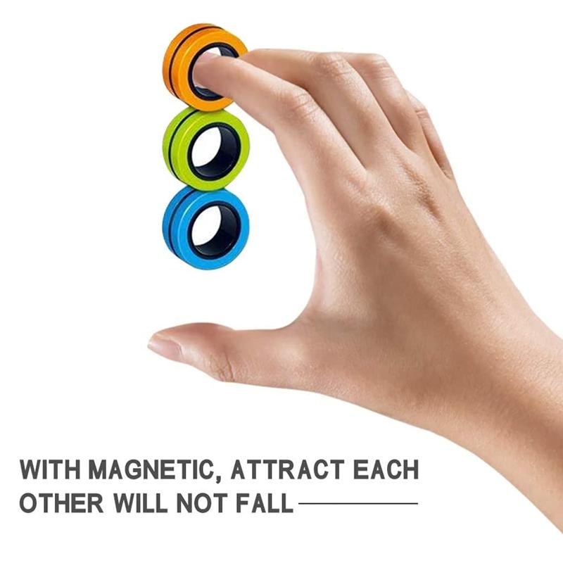 Finger Magnetic Rings