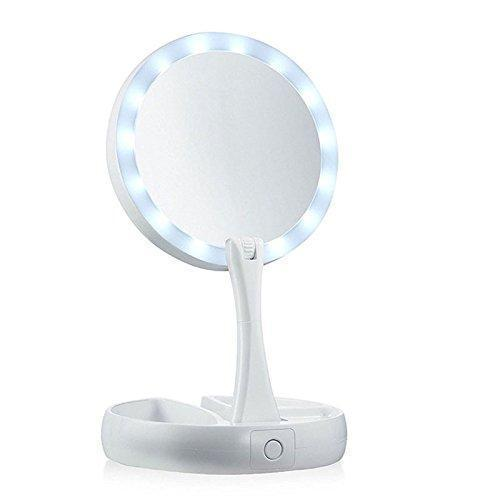 Hirundo LED Folding Makeup Mirror