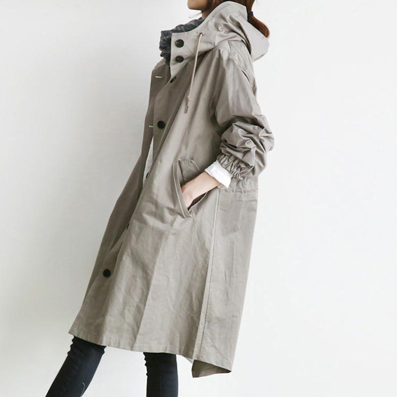 Waterproof Hooded Coat