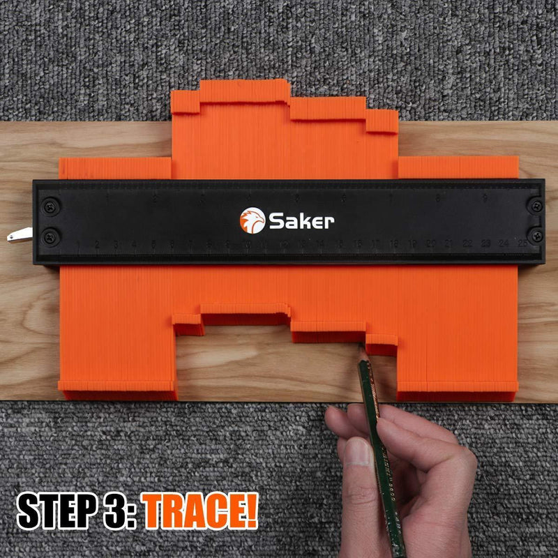 【LIMITED OFFER:SAVE £12】Saker® Contour Gauge Profile Tool
