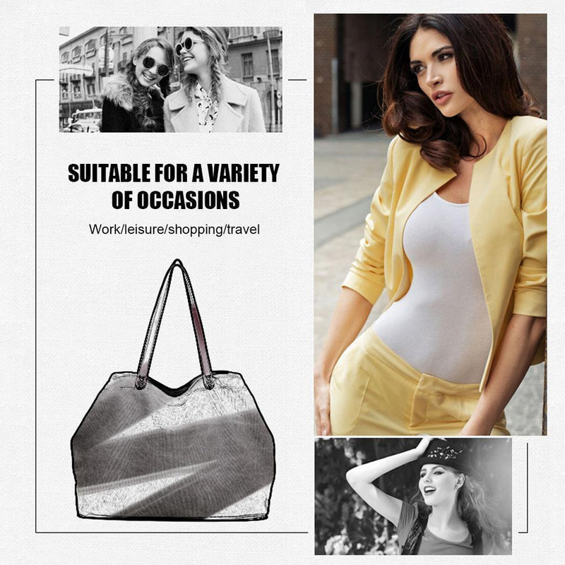 Large Capacity Retro Casual Canvas Handbag