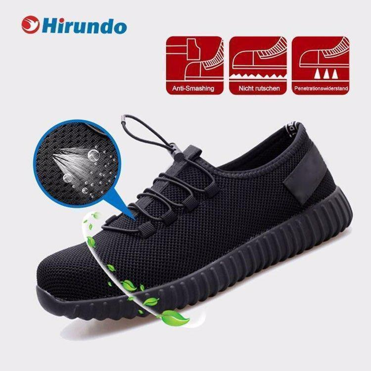Hirundo Lightweight Indestructable Safety Shoe, 1 pair