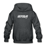 GripSquad Youth Hoodie - deep heather
