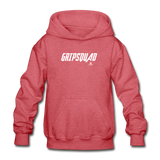 GripSquad Youth Hoodie - heather red