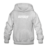 GripSquad Youth Hoodie - heather gray