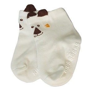 BigglyBoo Animals Baby Socks — Happy Puppy