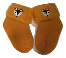 Load image into Gallery viewer, Winter Baby Socks - Winter Foxie