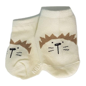 BigglyBoo Animals Baby Socks — Chubby Lion - BigglyBoo Baby Socks