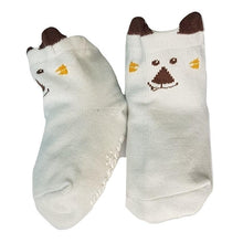 Load image into Gallery viewer, BigglyBoo Animals Baby Socks — Happy Puppy - BigglyBoo Baby Socks