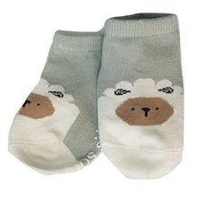Load image into Gallery viewer, BigglyBoo Animals Baby Socks — Sleepy Sheepy - BigglyBoo Baby Socks