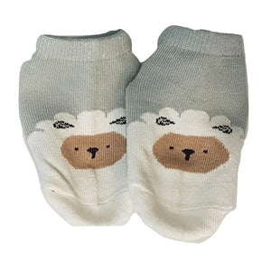 BigglyBoo Animals Baby Socks — Sleepy Sheepy - BigglyBoo Baby Socks