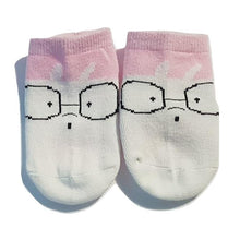 Load image into Gallery viewer, BigglyBoo Animals Baby Socks — Smart BunBun - BigglyBoo Baby Socks