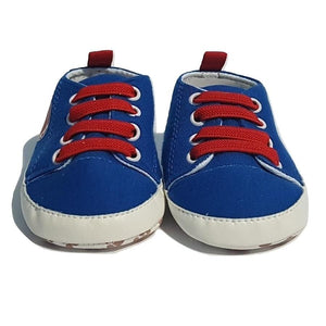BigglyBoo Baby Shoes — Football Sneakies - BigglyBoo Baby Socks