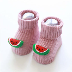 3D Fruit Socks