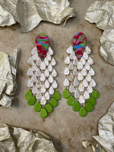 Load image into Gallery viewer, PALM (white, translucent, red, green)