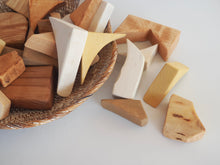 Load image into Gallery viewer, Natural Wooden Blocks Set