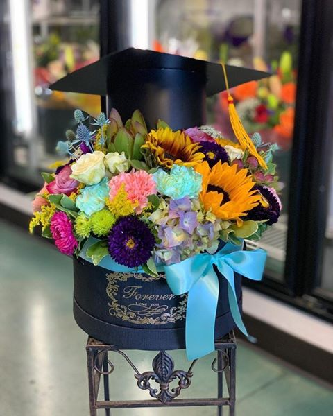 Graduation Floral Arrangment