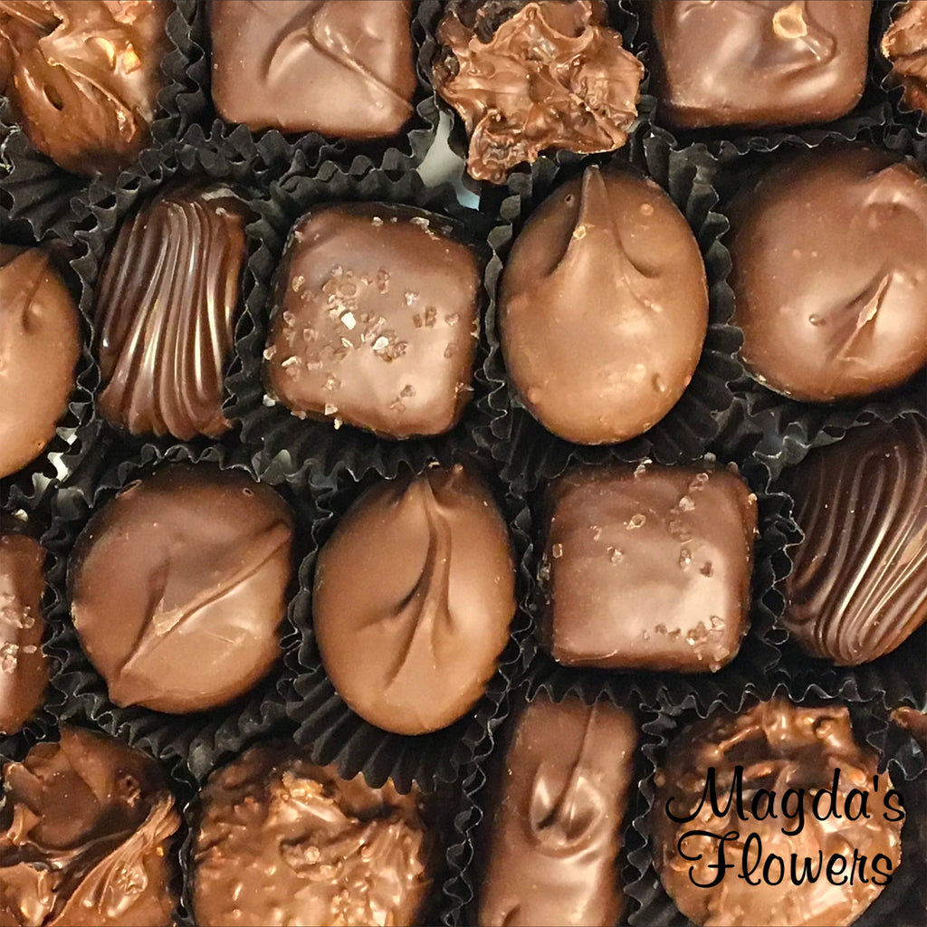 Chocolates - Add Chocolates to your Floral Order at Magdas Flowers, Salinas Florist.