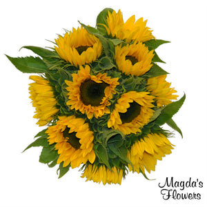 Sun Flowers Bundle - Order Flowers Online - Salinas Florist, Local Delivery - Magda's Flowers