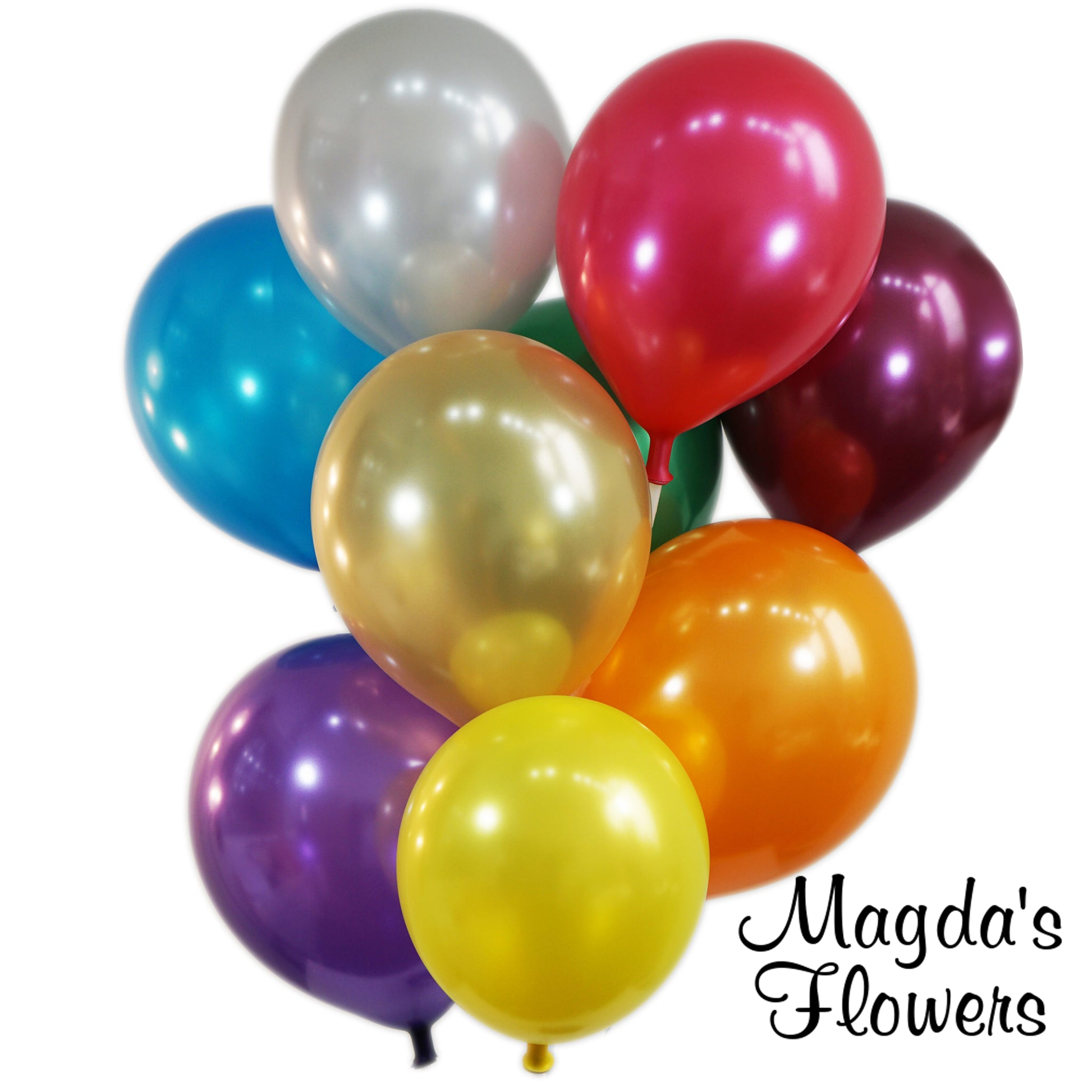 Latex Balloons - Add some latex ballons to your floral gift at Magda's Flowers
