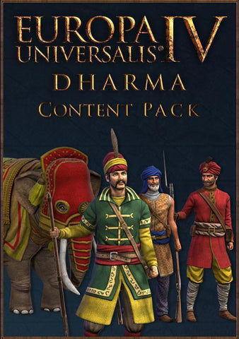 Europa Universalis IV - Dharma Content Pack (DLC)-caveofcodes
