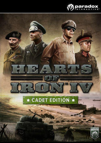Hearts of Iron IV (Cadet Edition) Uncut EU-caveofcodes