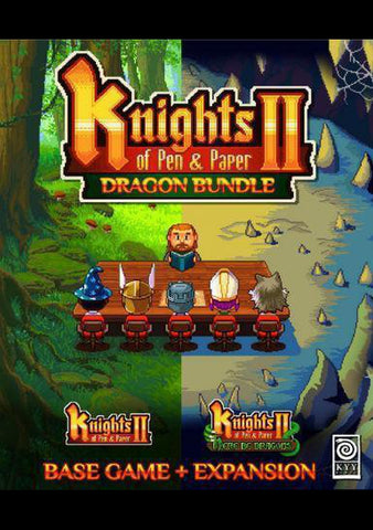 Knights of Pen and Paper 2 - Dragon Bundle-caveofcodes