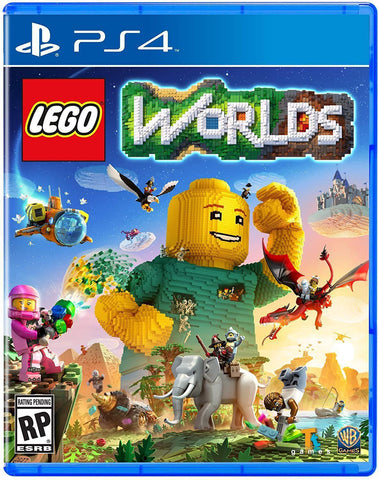 LEGO Worlds PS4 (NA)-caveofcodes