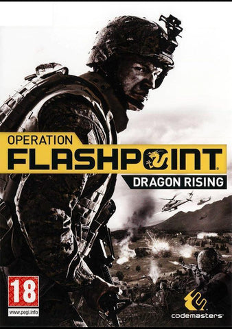 Operation Flashpoint: Dragon Rising-caveofcodes