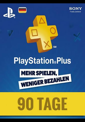 PlayStation Network Card (PSN) 90 Days (German)-caveofcodes