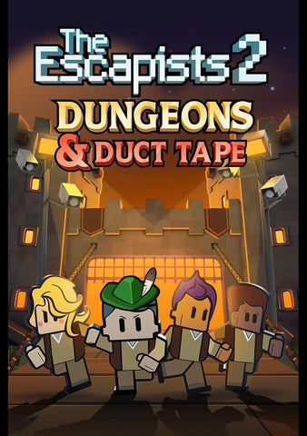 The Escapists 2 - Dungeons and Duct Tape DLC (US)-caveofcodes