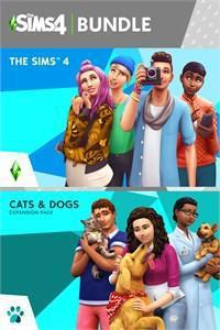 The Sims 4 Plus Cats & Dogs Bundle (Xbox One)-caveofcodes