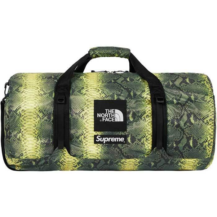 The North Face Snakeskin Flyweight Duffle Bag Green