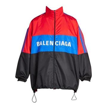 Colorblock Logo Track Jacket