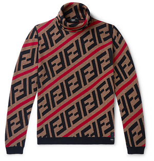 Logo Jacquard Sweater