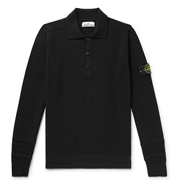 Wool-Blend Polo Shirt