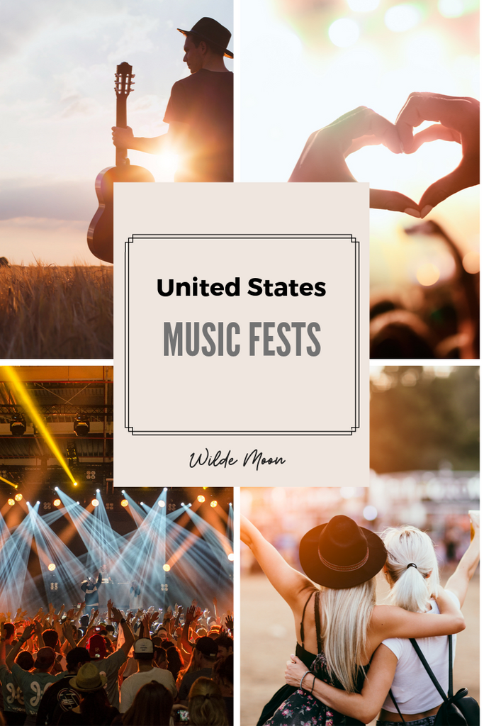 La Revue: US Music and Art Festivals