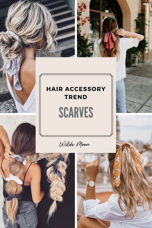 2019 Hair Accessory Trends: The Scarf
