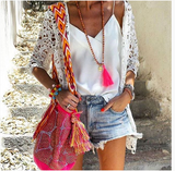 Bali Silk Tassel Necklace