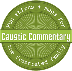 Caustic Commentary Logo
