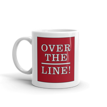 Load image into Gallery viewer, Over the Line Ceramic Mug
