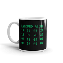 Load image into Gallery viewer, Encoded Alert Ceramic Mug