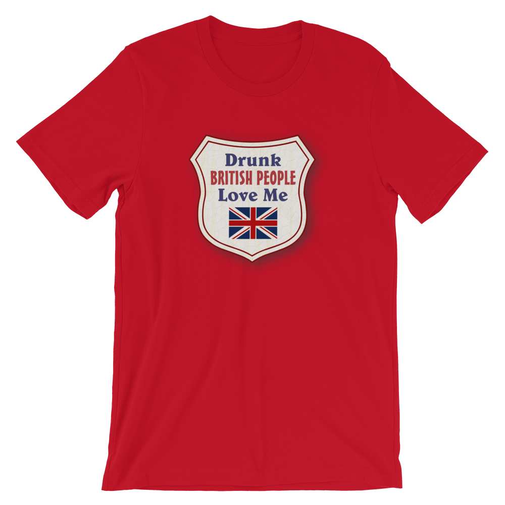 Drunk British People T-Shirt
