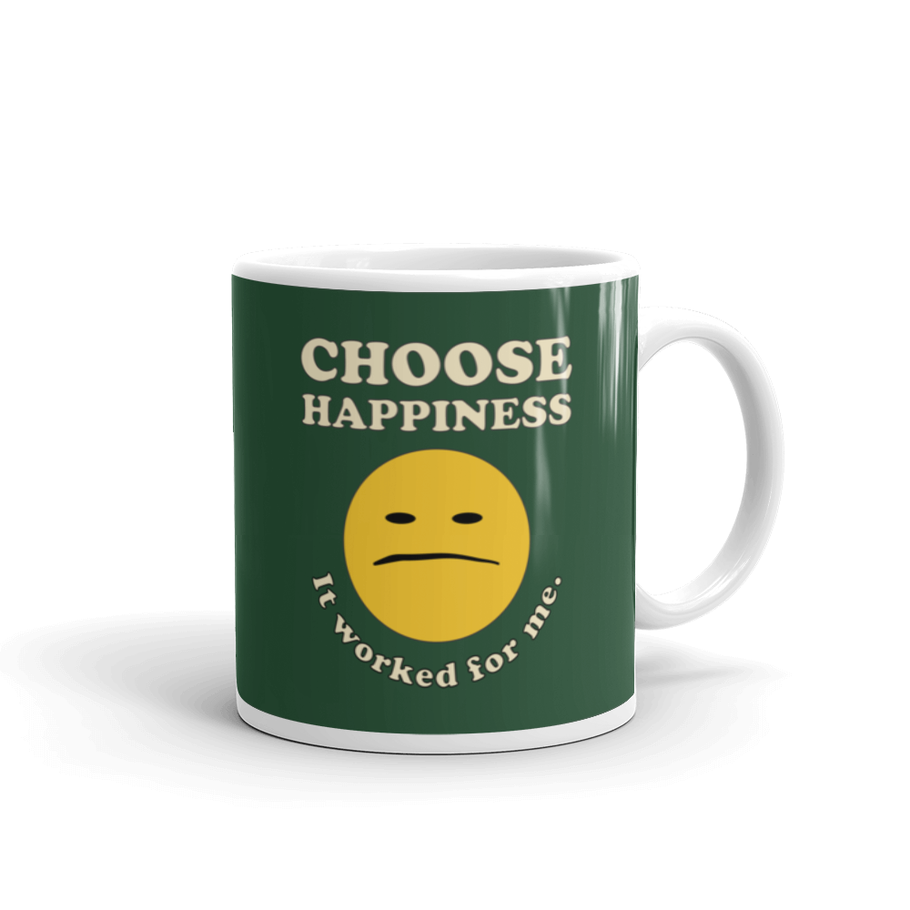 Choose Happiness Ceramic Mug