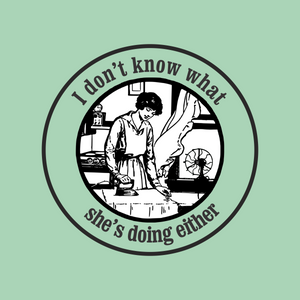 What She's Doing T-Shirt