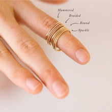 Load image into Gallery viewer, Stella Sparkle Stacking Ring