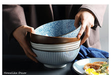 Load image into Gallery viewer, 8 inch Japanese Style Bowl