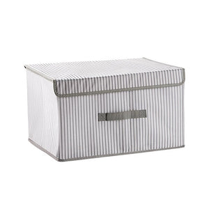 New folding fabric storage box
